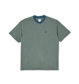 Polar Skate Co. Dizzy Stripe Tee Blue