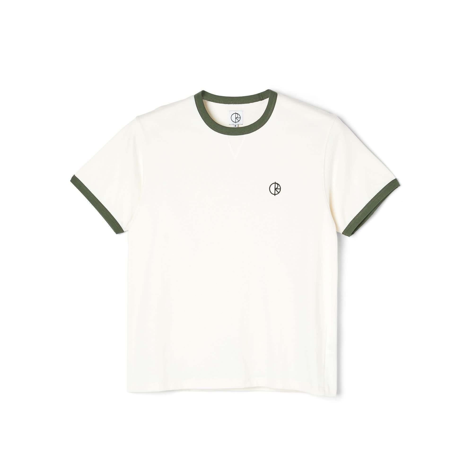 Polar Skate Co. Rios Ringer Tee Cloud White/Khaki