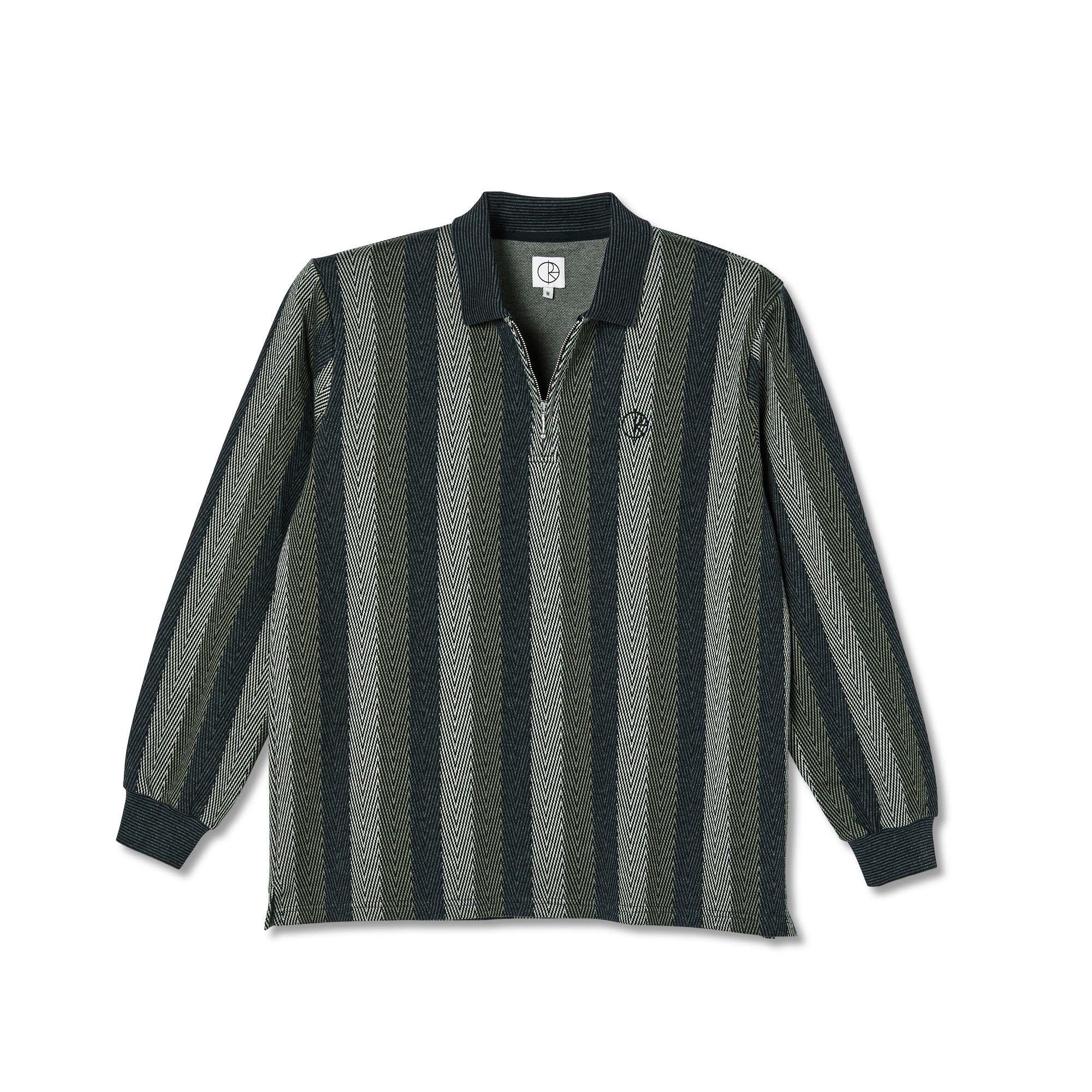 Polar Skate Co. Jacques L/S Polo Shirt Khaki