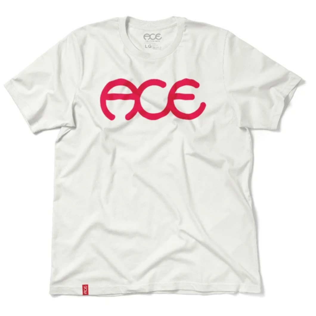 Ace Skateboard Truck MFG. Ace Rings White Tee