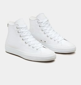 Converse USA Inc. CTAS Pro Hi White/White Canvas