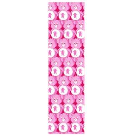 Grizzly Griptape Positive Bears Print Griptape Pink