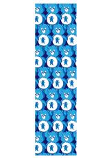 Grizzly Griptape Positive Bears Print Griptape Blue