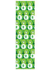 Grizzly Griptape Positive Bears Print Griptape Green