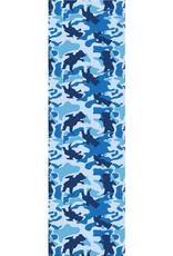 Grizzly Griptape OG Bear Warp Camo Griptape Blue