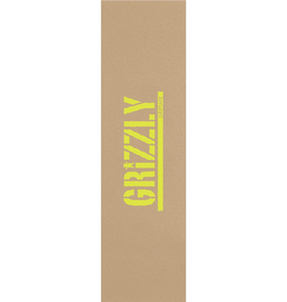 Grizzly Griptape Stamp Necessities Griptape Sand/Lime