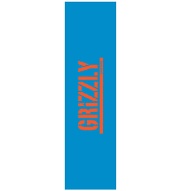 Grizzly Griptape Stamped Necessities Griptape Blue/Orange