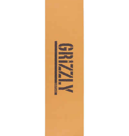Grizzly Griptape Stamped Necessities Griptape Brown/Black