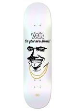 "Real Skateboards Ishod Smile Happy 8.25"""