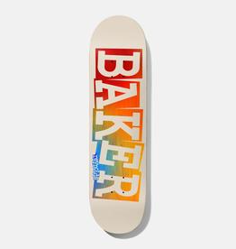 "Baker Skateboards AR Ribbon Tan Rainbow 8.5"""