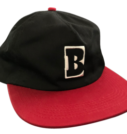 Baker Skateboards Capital B Black/Red Snapback