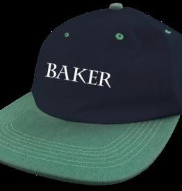 Baker Skateboards Rye Navy/Green Snapback