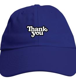 Thank You Thank You Logo Blue Hat