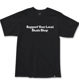 Thank You Support S/S Black Tee