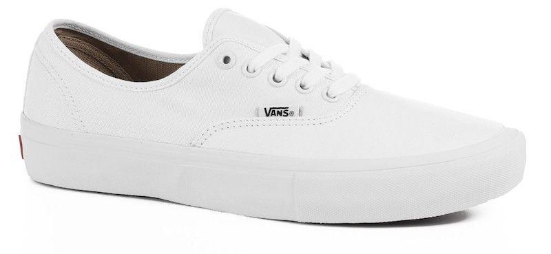 cd43d71111c9 Vans Shoes Authentic Pro True White - APB Skateshop LLC.