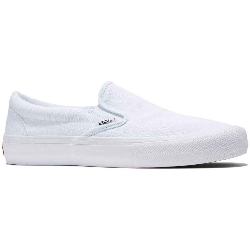 Vans Shoes Slip On Pro White White - APB Skateshop LLC. 67dd8d6ee