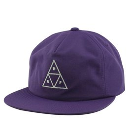 HUF Triple Triangle Snapback Purple