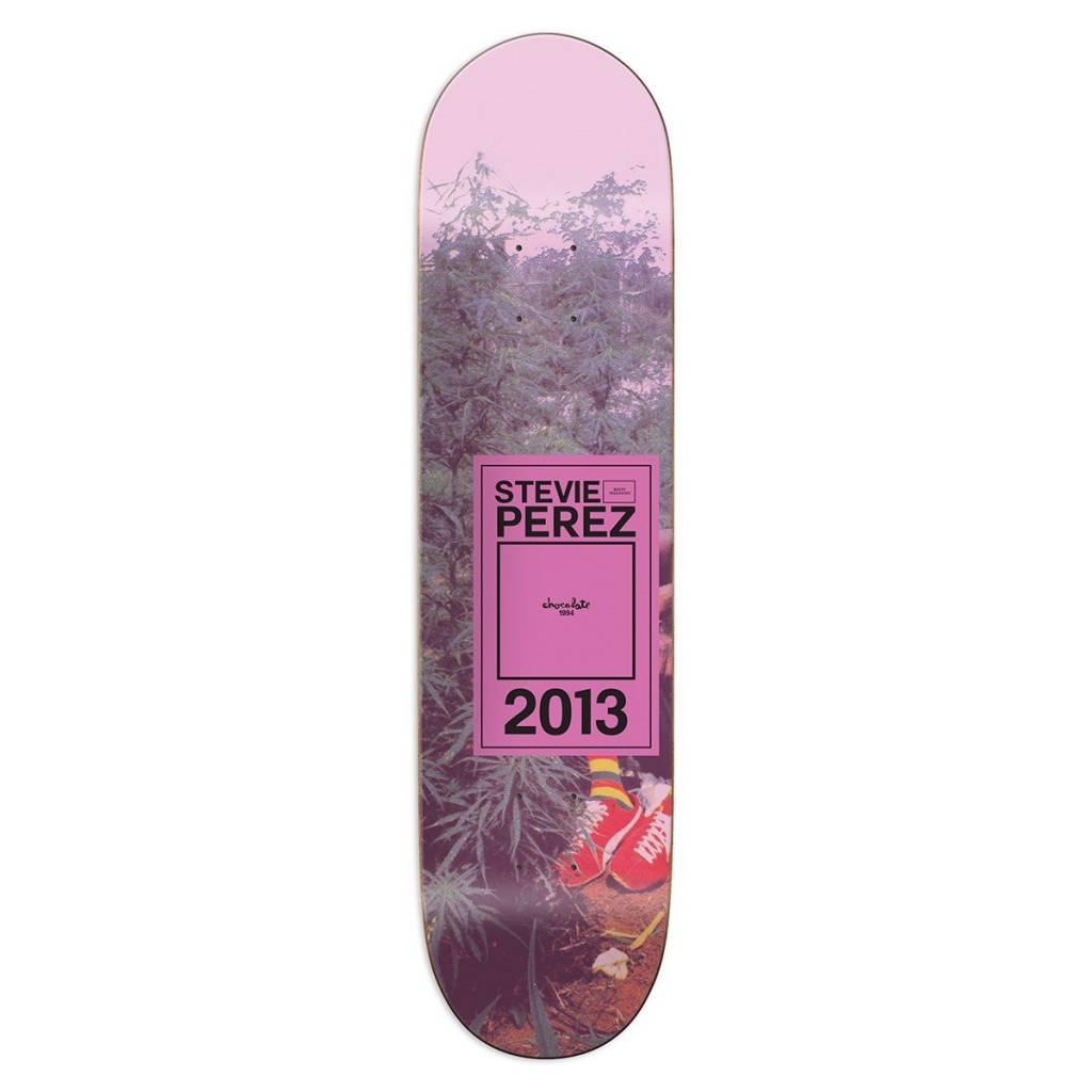 "Chocolate Skateboards Inaugural Year Perez 8.125"""