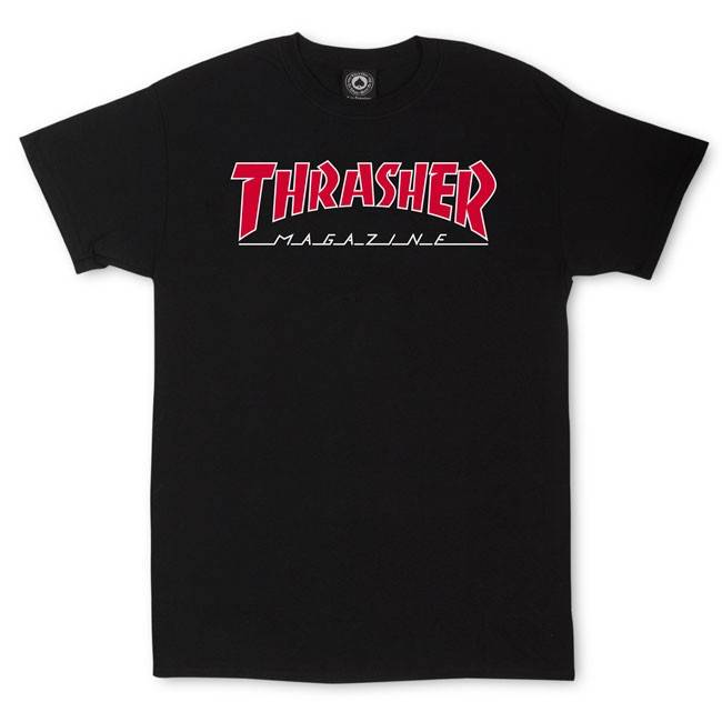 Thrasher Mag. Outlined S/S