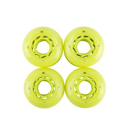 Welcome Skateboards Orbs Ghost LItes Lime/Lime 56mm