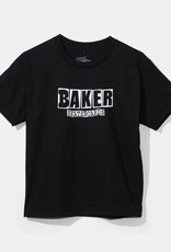 Baker Skateboards Brand Logo Youth Tee Blk/Wht