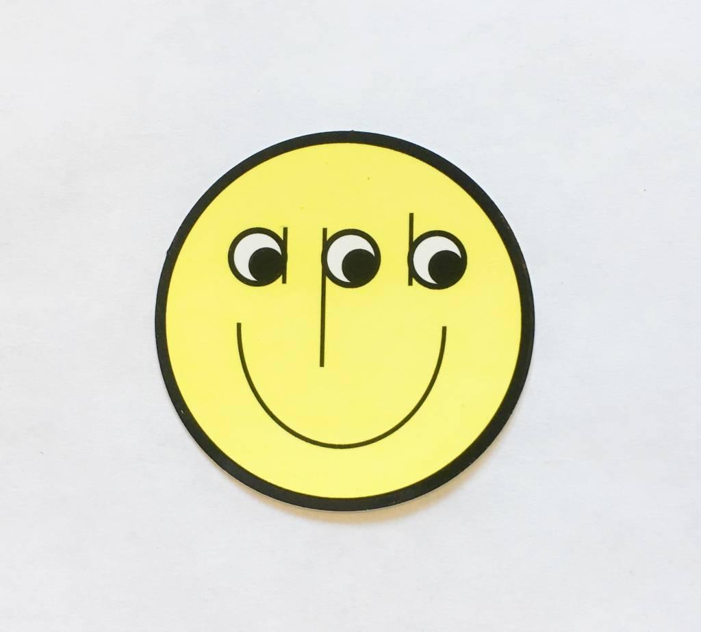 APB Skateshop Happy World Sticker