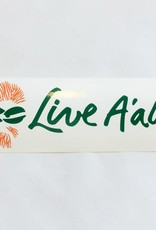 APB Skateshop Live A'ala Bumper Sticker