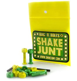 "Shake Junt SJ Hardware Green/Yellow 7/8"" Allen"