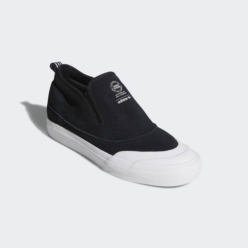 Adidas Matchcourt Mid Slip Black/White