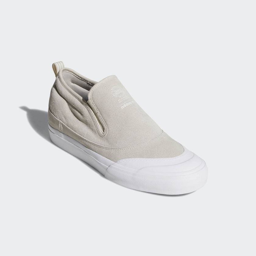 Adidas Matchcourt Mid Slip Brown/White