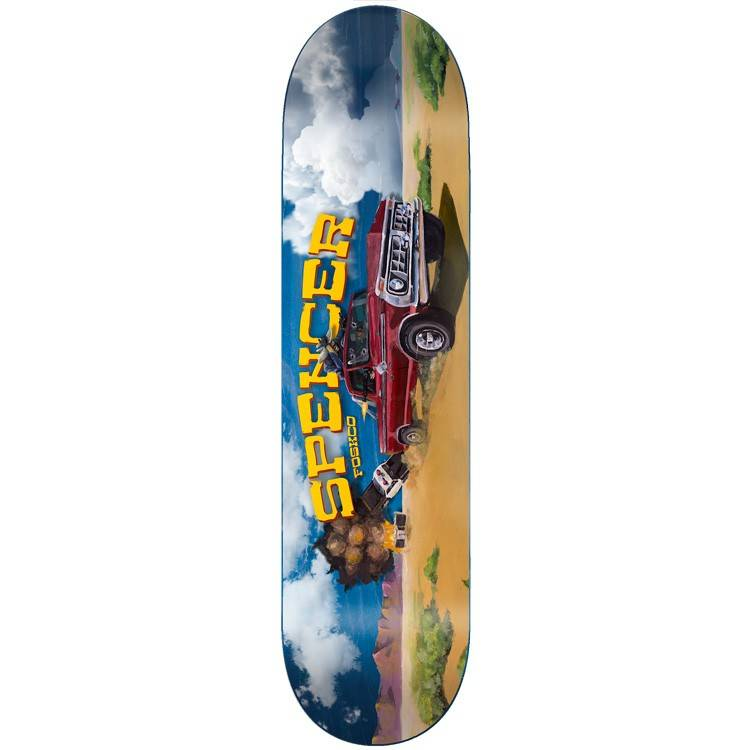 Foundation Skateboards Spencer Wild Ride 8.375""