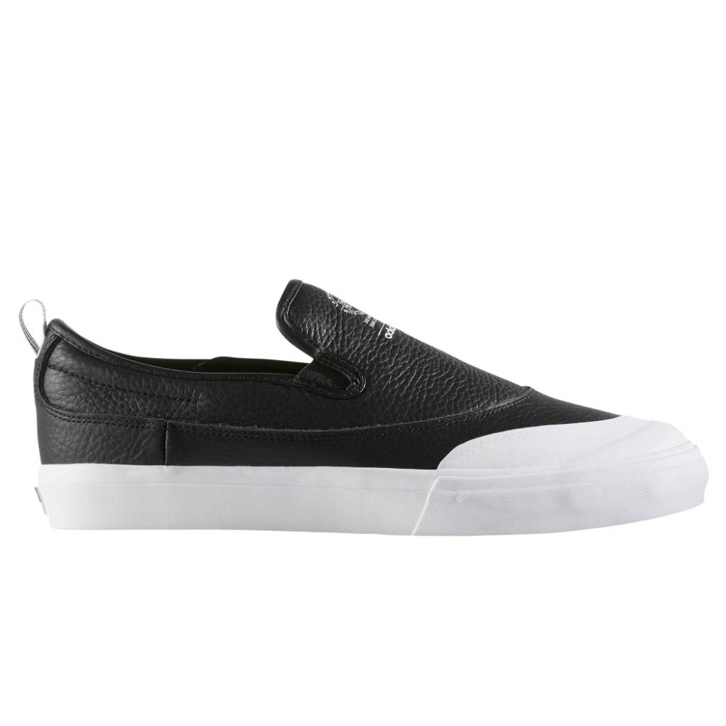 Adidas Matchcourt Slip Black/White Leather