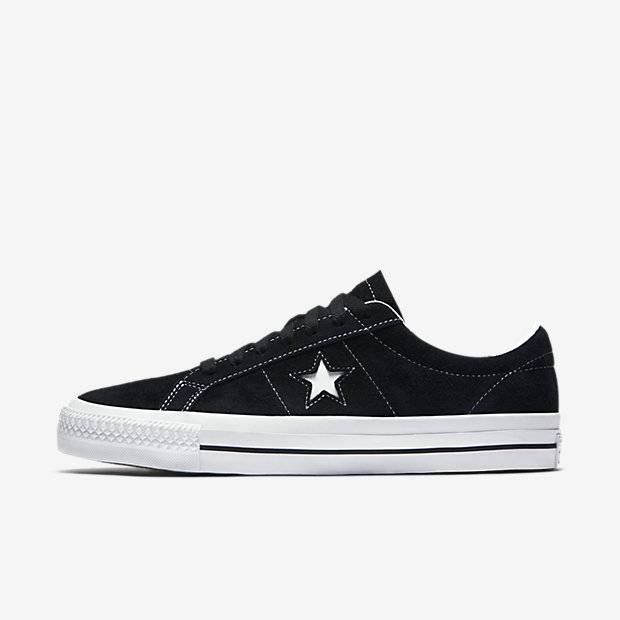Converse USA Inc. One Star Pro OX Blk/Wht/Wht
