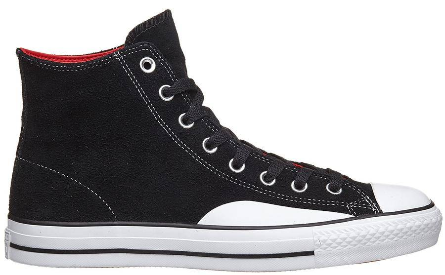 Converse USA Inc. CTAS Pro Hi Black Enamel Red - APB Skateshop LLC. ede775a1d725