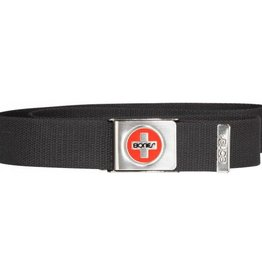 Bones Bones Swiss Canvas Belt Black