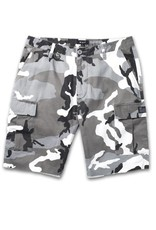 HUF Standard Issue Cargo Short White/Camo