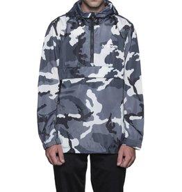 HUF Peak Anorak Jacket White/Camo Large