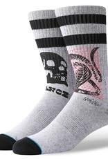 Stance Socks Oblow Snake Grey Large