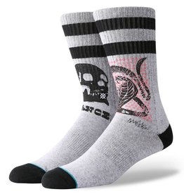 Stance Socks Oblow Snake Grey Large