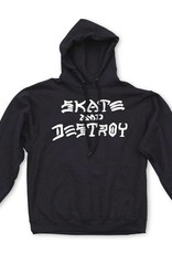 Thrasher Mag. Skate & Destroy Hood Black L