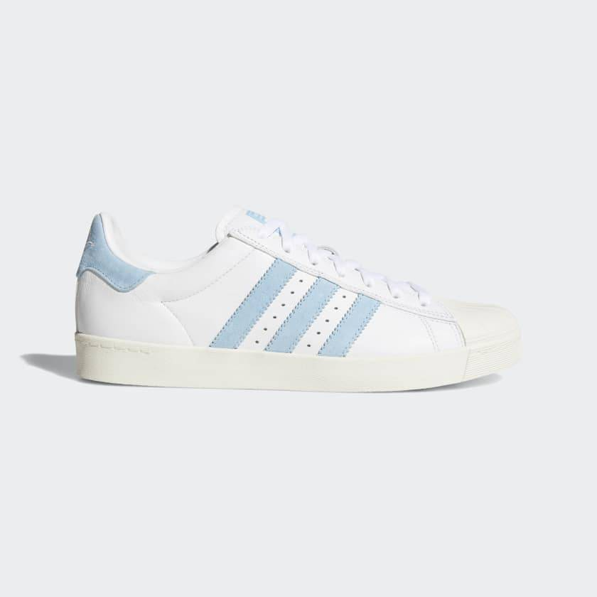 f76368b85 Superstar Vulc x Krooked White Light Blue - APB Skateshop LLC.
