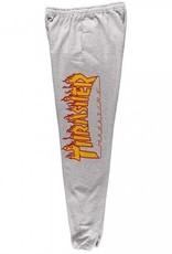 Thrasher Mag. Flame SweatPants Grey