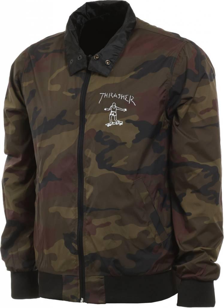 Thrasher Mag. Gonz Reversible Coaches Jacket Blk/Camo