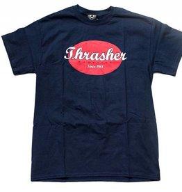 Thrasher Mag. Oval Tee Navy