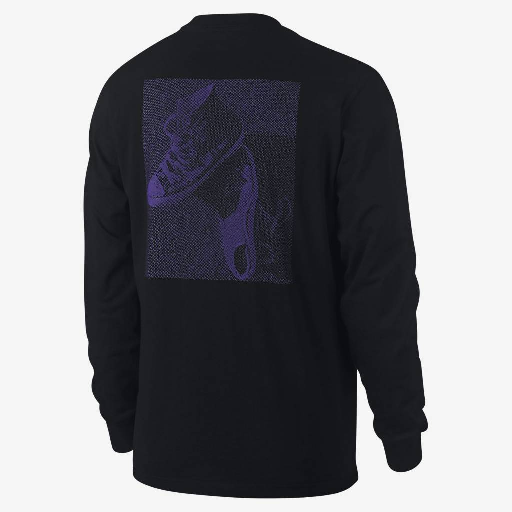 Converse USA Inc. Cons Purple L/S Black
