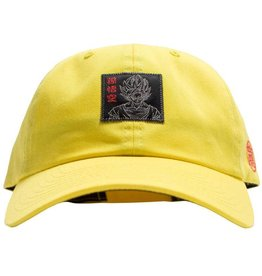 085ad62952321 Primitive DBZ Goku Reflective Dad Hat Yellow
