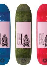 "Welcome Skateboards Go Darker on Pysanka Pink/Stains 8.5"""
