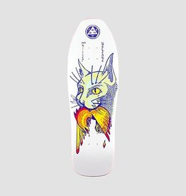 Welcome Skateboards Miller Cat Gets Bird on Sugarcane White 10""