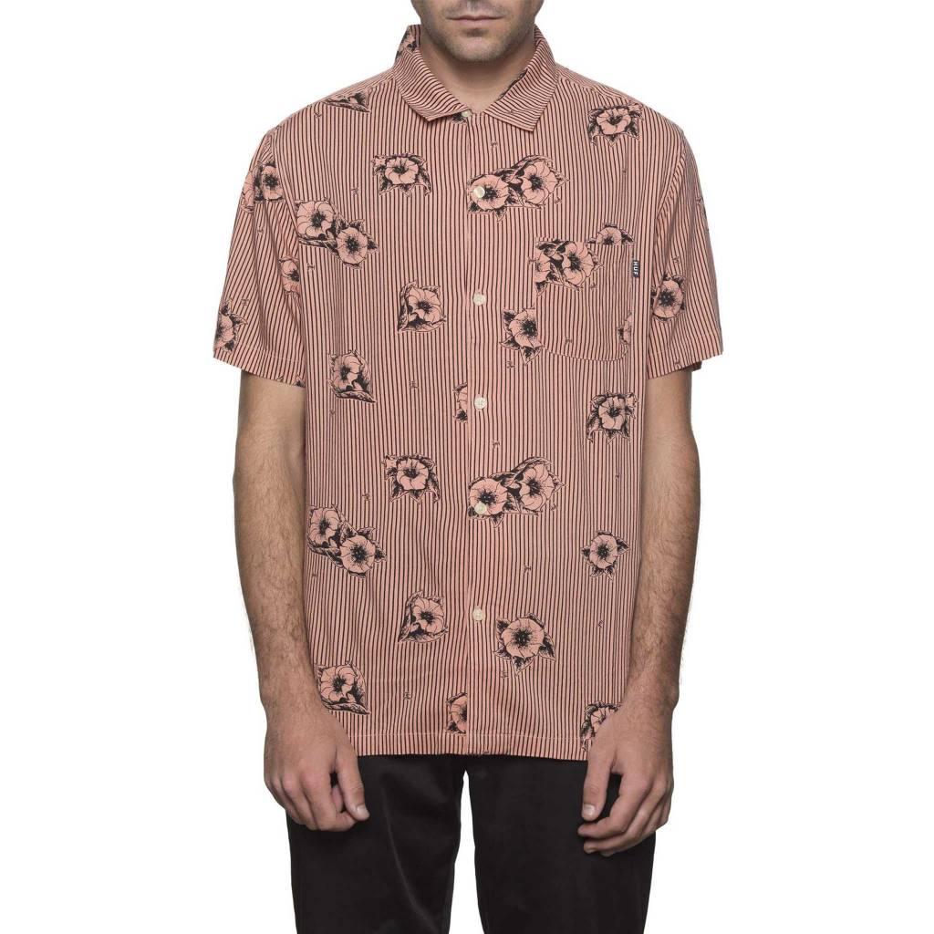 HUF Delsur Button-Up Coral Haze