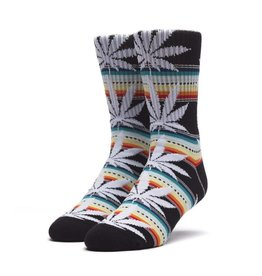 HUF Sarape Plantlife Sock Black